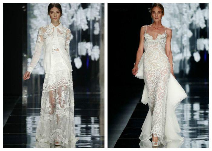 Модные свадебные платья Yolan Cris
