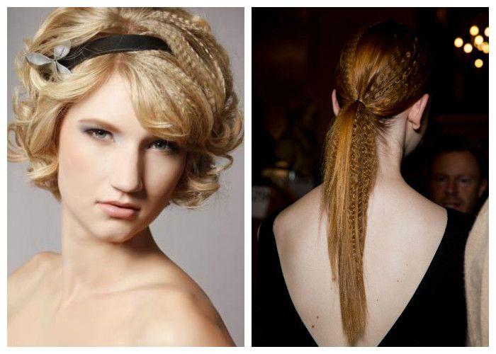 Вечерние прически 2018: гофрированные волосы