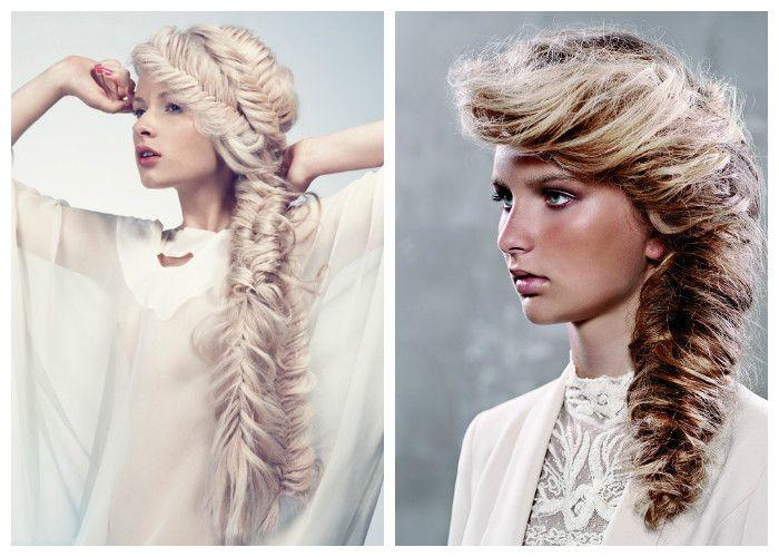 Вечерние прически на длинные волосы: косы