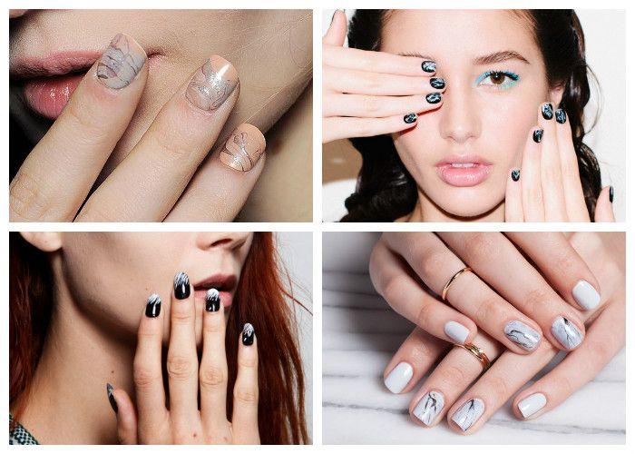 Дизайн ногтей: шеллак. Модные художественные и абстрактные рисунки.