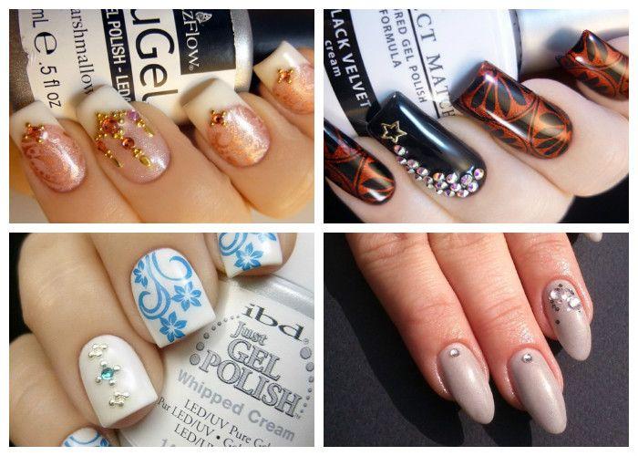 Дизайн ногтей: шеллак. Использование различного декора и аксессуаров для маникюра.