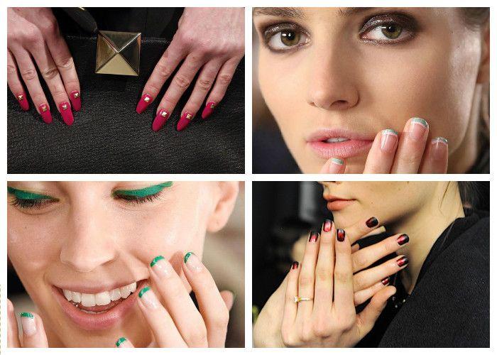 Дизайн ногтей: шеллак (фото).
