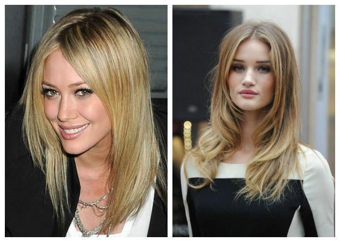 Стрижка каскад, блондинки и светло-русые девушки: фото.