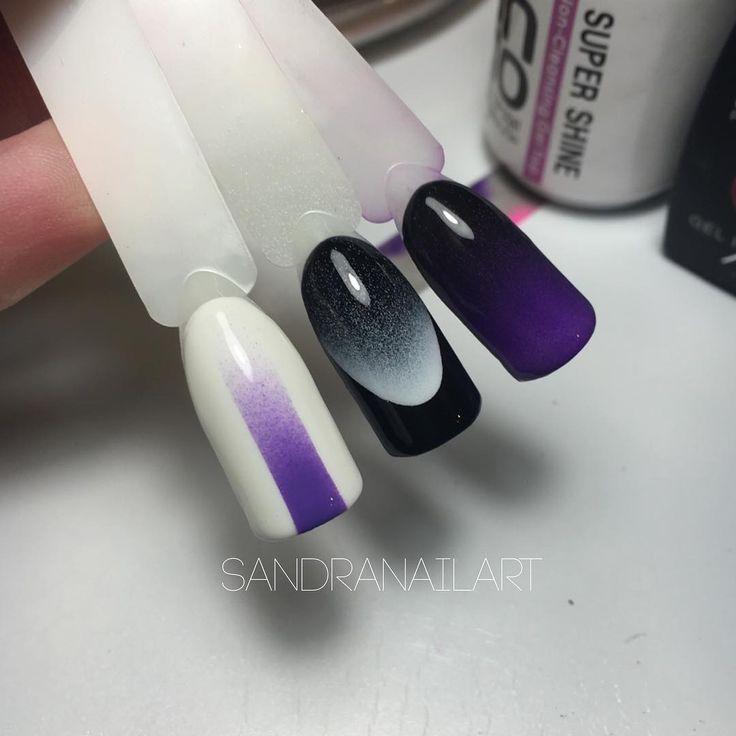 Маникюр на короткие ногти: аэрография на ногтях (фото)