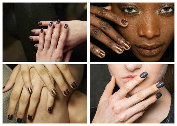 Маникюр на короткие ногти: модные цвета (фото)