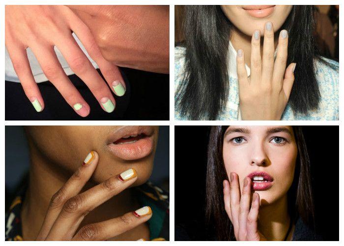 Маникюр на короткие ногти: фото дизайн 2017