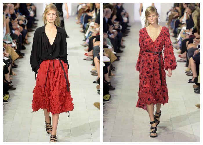 Платья весна-лето в испанском стиле