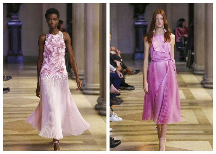 Платья весна-лето с плиссированной юбкой