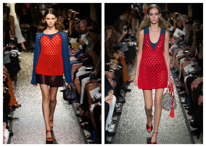 Вязаные платья весна-летоВязаные платья весна-лето