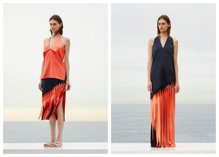 Пляжные платья с бахромой Dion Lee (фото)
