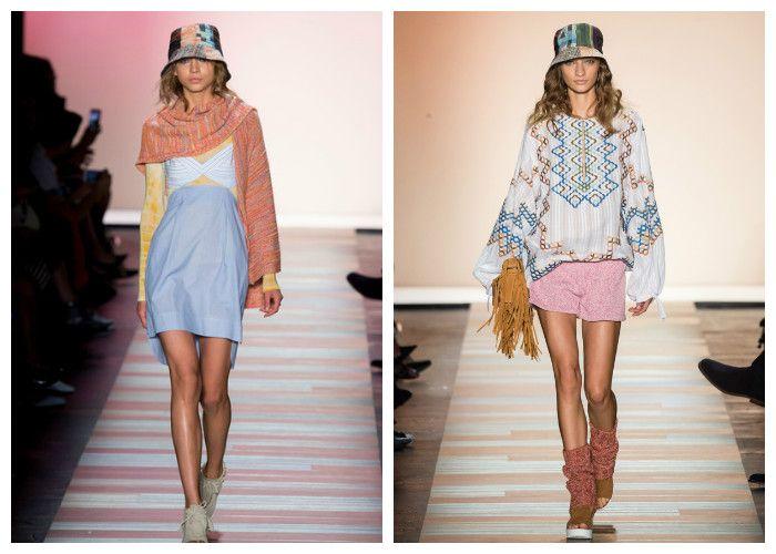 Пляжные платья: стиль хиппи-шик (фото)