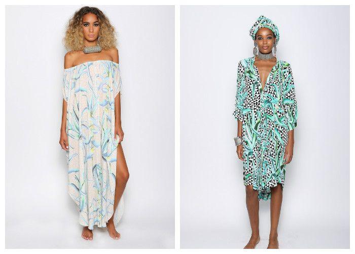 Пляжные платья в марокканском стиле (MARA HOFFMAN)