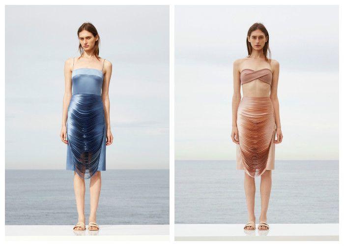 Пляжные платья фото 2016: Dion Lee