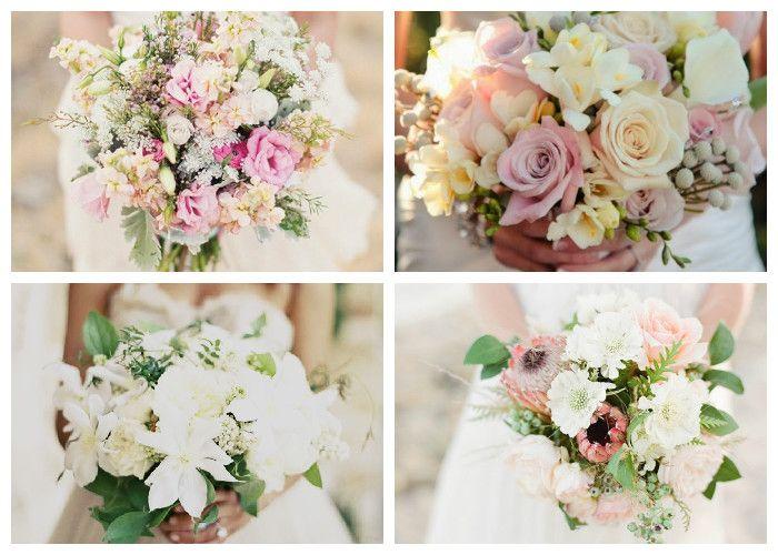 Красивые свадебные букеты 2017 фото
