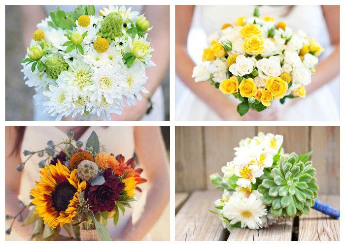 Свадебный букет для невесты: фото