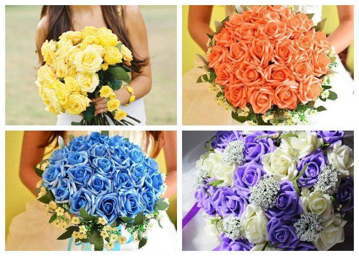 Свадебный букет для невесты из роз