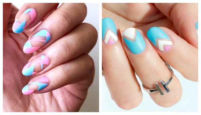Дизайн ногтей на 8 марта