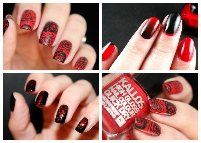 Дизайн ногтей на 8 марта: красный гель-лак (фото)