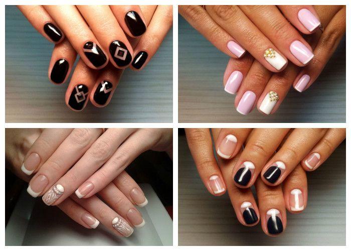Коллекция фото: дизайн ногтей на 8 марта