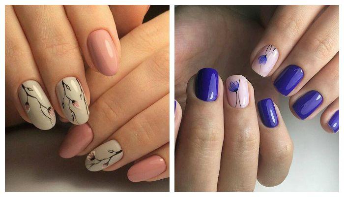 Дизайн ногтей 2017 (фото). Цветы