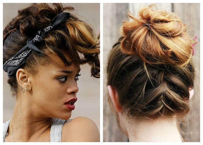 Простые и красивые косы на средние волосы