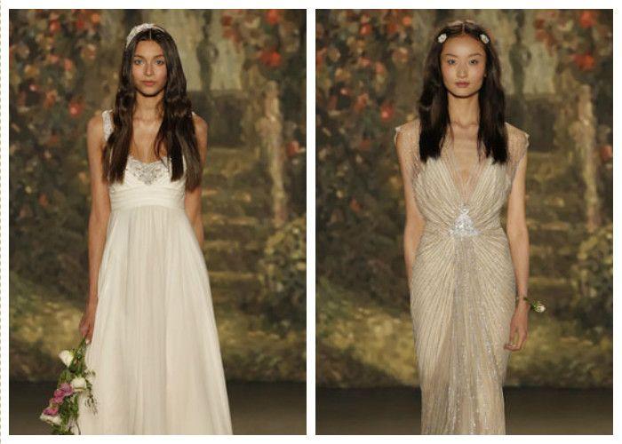 Греческое свадебное платье: фото модных фасонов 2016