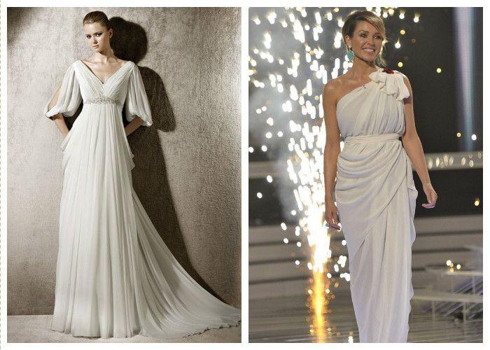 Греческие свадебные платья (фото)