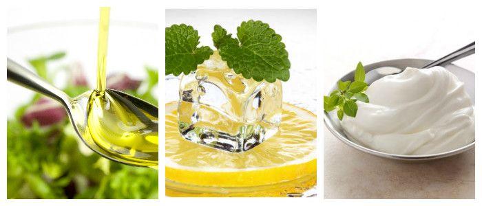 Маска с лимоном для лица