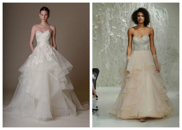 Пышные свадебные платья: фото