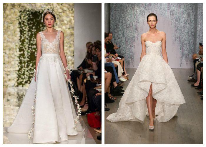 Пышные свадебные платья: фото.