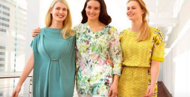 Платья для полных девушек (фото)