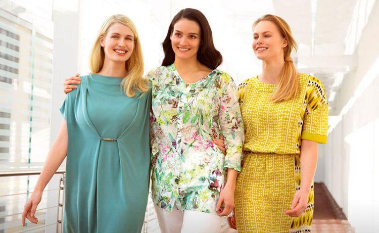 Платья для полных женщин (51 фото)