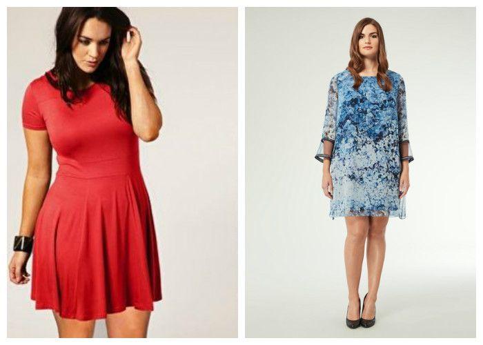 Повседневные платья для полных девушек (фото)