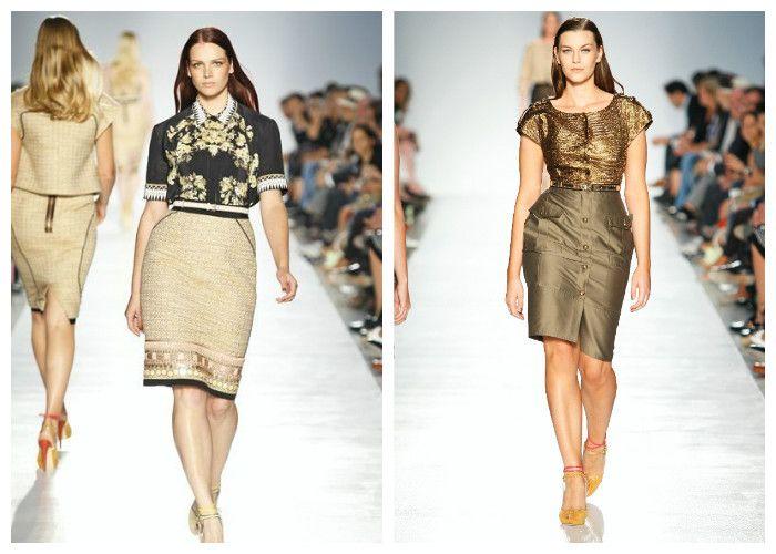 Фото, офисные платья для полных девушек: бренд Elena Miro