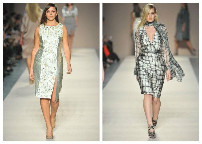 Фото платья для полных девушек: бренд Elena Miro