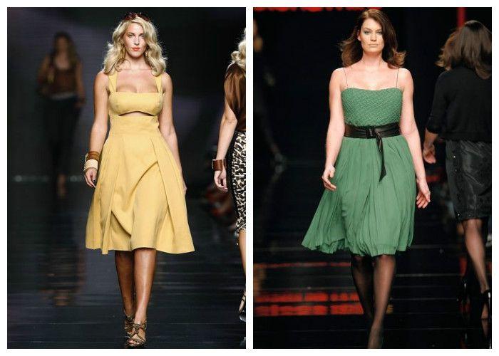 Летние платья для полных девушек: бренд Elena Miro