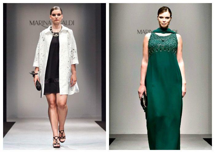 Платья для полных девушек: бренд Marina Rinaldi (фото)