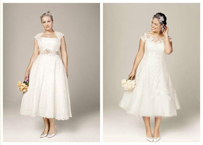 Свадебные платья для полных девушек с закрытыми плечами (фото)