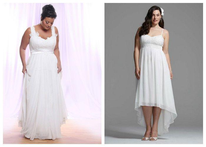 Свадебные платья для полных девушек в греческом стиле (фото)