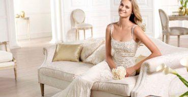 Свадебное платье русалка (фото)