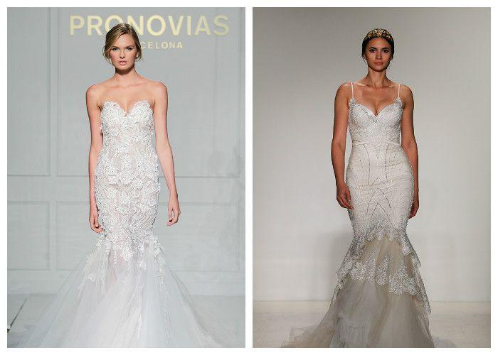 Свадебное платье русалка: фото