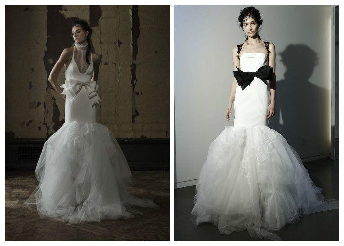 Свадебное платье русалка: фото модных моделей 2016, Vera Wang