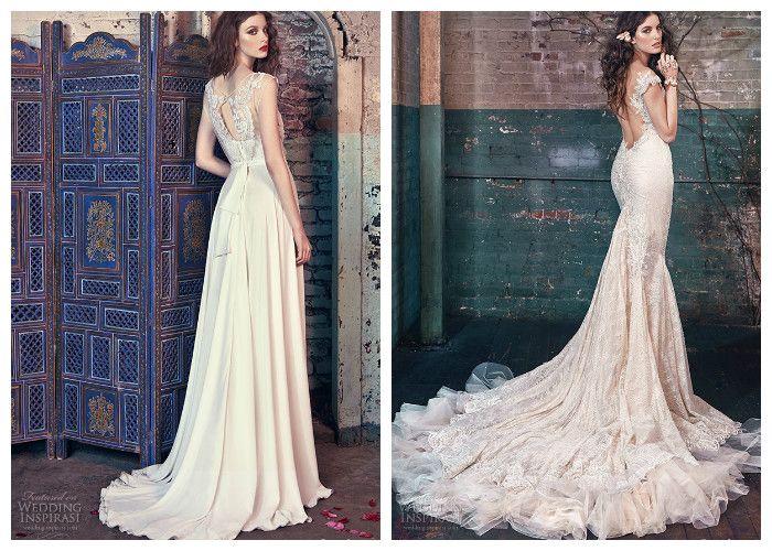 Свадебное платье русалка: фото модных моделей 2016, Galia Lahav