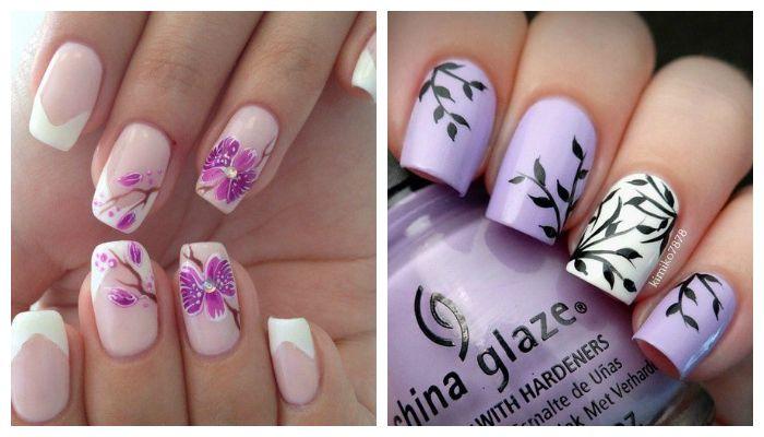 Ногти гель лак дизайн фото 2017 новинки лето цветы фото