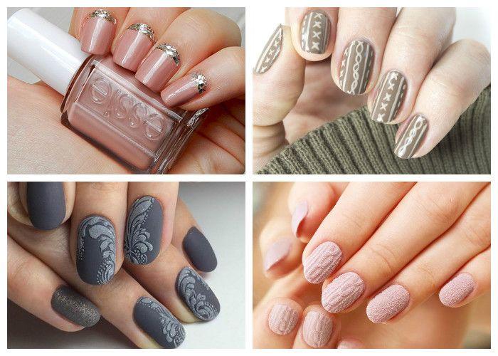 Идеи дизайна ногтей: бархатное покрытие (фото)