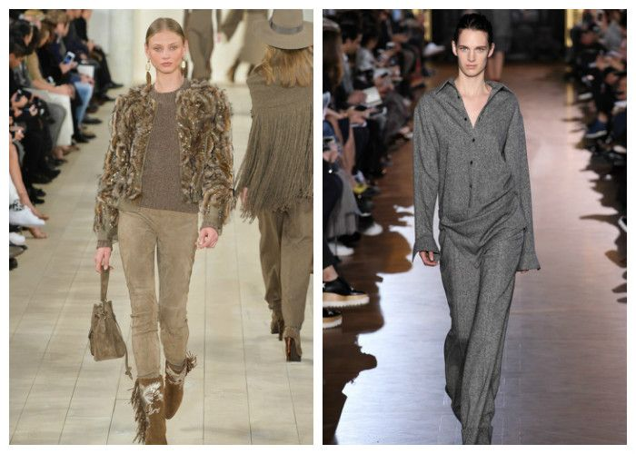 Модные брюки 2016: фото с модных показов