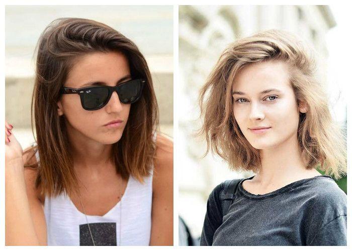 Популярные прически для девушек на средние волосы