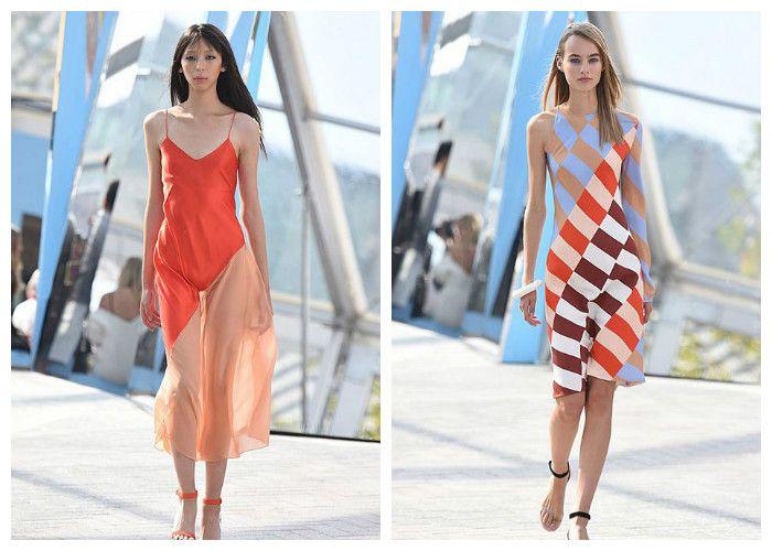 Летние платья 2016 для полных леди