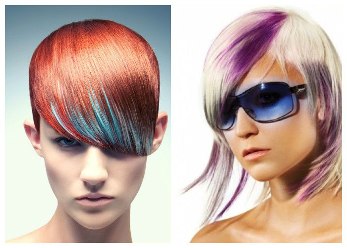 pricheski-s-chelkoy-2 Прически на средние волосы: 100 фото самых стильных укладок