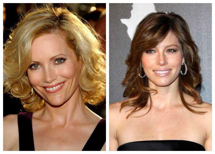Стрижки для женщин 40 лет на средние волосы: каскадные (фото)